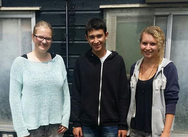 Mariska, Angelo en Danique