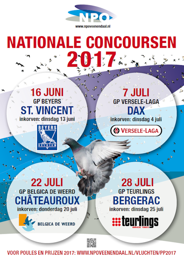 Poster Nationale Concoursen 2017